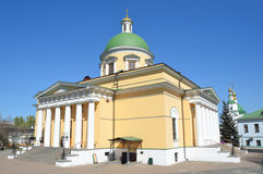 Troitsky-Kathedrale in Svyato-Danilov-Kloster in Moskau Stockbild