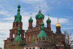 Troitsky Sobor in Krasnodar Royalty Free Stock Photo
