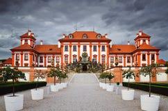 Troja宫殿 免版税图库摄影