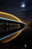 Troja Bridge in Prague Stock Images
