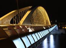 Troja bro, Trojsky mest, Prague, Tjeckien Royaltyfri Foto
