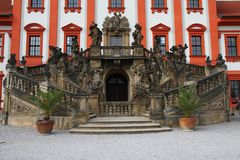 Troja castle Stock Photography