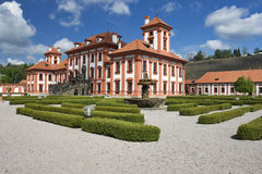 Troja castle Stock Photos