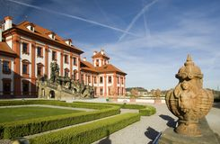 Troja castle - Prague royalty free stock photo