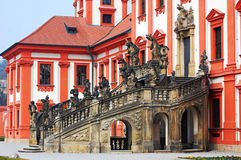 Troja castle in the Prague Stock Photography