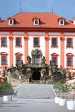 Troja castle, Prague Stock Image