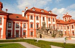 Troja Chateau Royalty Free Stock Image