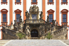 Troja chateau. Castle in the early Baroque style originated in the years between 1679-1685. Prague. Czech republic Stock Photo