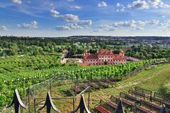 Troja Chateau In Prague Royalty Free Stock Photo