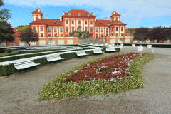 Troja chateau - Prague Stock Photo