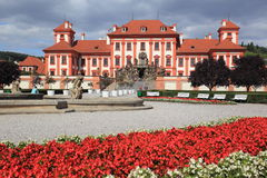 Troja chateau in Prague Stock Image