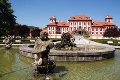 Troja Chateau, Prague, Tjeckien Fotografering för Bildbyråer