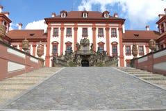 Troja das Prag-Schloss Lizenzfreies Stockfoto