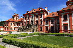 Troja Palace is a Baroque palace located in Troja, Prague's north-west borough (Czech Republic). Stock Images