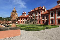 Troja Palace is a Baroque palace located in Troja, Prague's north-west borough (Czech Republic). Stock Photography