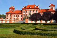 Troja Palace is Baroque palace in Prague Royalty Free Stock Image