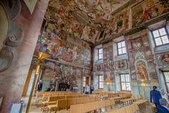 Troja Palace and Garden in Summer in Prague, Czech Republic stock photos