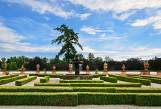 Troja Palace Garden Royalty Free Stock Image