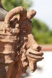 Troja Palace , mythical terracotta vase ,Prague, Czech Republic. PRAGUE, CZECH REPUBLIC- MAY 03, 2017:Troja Palace , mythical terracotta vase. It is a Baroque Royalty Free Stock Photography