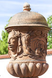 Troja Palace , mythical terracotta vase ,Prague, Czech Republic. PRAGUE, CZECH REPUBLIC- MAY 03, 2017:Troja Palace , mythical terracotta vase. It is a Baroque Stock Image