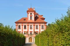 Troja Palace in Prague Stock Image