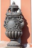 Troja Palace in sunny day, mythical vase ,Prague, Czech Republic. PRAGUE, CZECH REPUBLIC- MAY 03, 2017:Troja Palace , mythical vase. It is a Baroque palace Stock Photography
