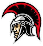 Trojan army mascot stock illustration