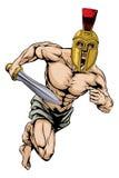 Trojan helmet warrior Stock Photography