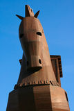Trojan Horse. A front view of the horse of Troy Stock Photography
