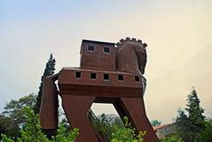Trojan horse Stock Image