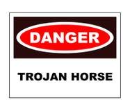 Trojan Horse Fotografia Stock Libera da Diritti