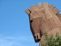 Trojan Horse. History monument in Turkey Royalty Free Stock Images