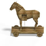 Trojan Horse Immagine Stock Libera da Diritti
