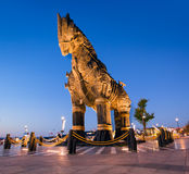Trojan horse, Canakkale Turkey. Trojan horse (Troy), Canakkale Turkey Royalty Free Stock Photos