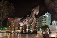 Trojan horse in Canakkale, Turkey Royalty Free Stock Photos