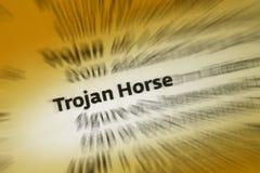 Trojan Horse royalty free stock photography