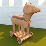 Trojan Horse, 3d Stock Photography