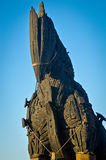 Trojan Horse et ciel bleu image libre de droits