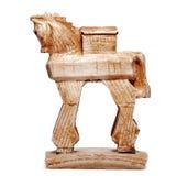 Trojan Horse, Figürchen, bibelot Lizenzfreies Stockfoto