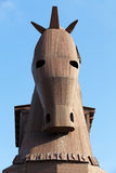 Trojan Horse located in Troy Royalty Free Stock Images