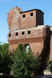 Trojan Horse located in Troy Stock Image