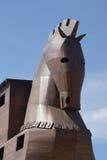 Trojan Horse replica Stock Image