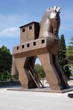 Trojan Horse replica Royalty Free Stock Images