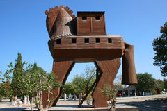 Trojan Horse royalty free stock images