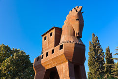 Trojan Horse - Turquie de troy Image stock