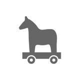Trojan horse  ,  wood horse Stock Photography