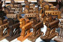 Trojan Horses Royalty Free Stock Photography