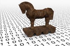 Trojan häst Arkivfoton