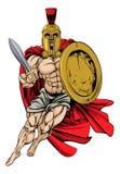 Trojan o spartano Fotografia Stock
