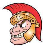 Trojan warrior Royalty Free Stock Images